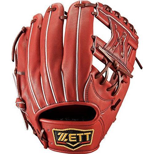 ZETT(ゼット) 野球 硬式 グラブ プロステイタス 二塁手·遊撃手用 (右投げ用) BPROG44 ボルドーブラウン(4000) LH