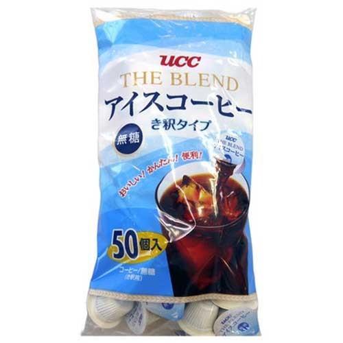 UCC The Blend アイスコーヒー ポーション 無糖 900g(18g*50個) rrr-j