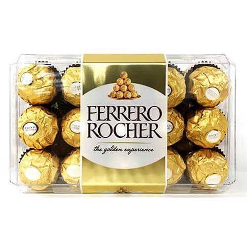 フェレロ ロシェ(FERRERO ROCHER) チョコレート 30粒 rrr-j