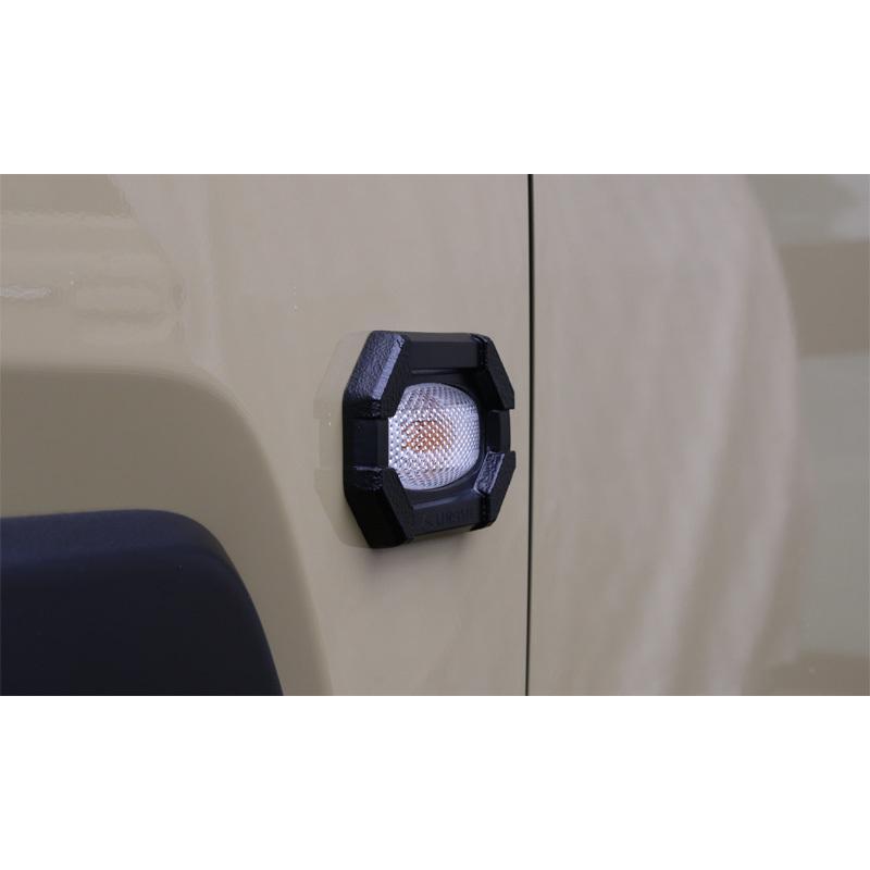 ケンスタイル サイドウインカーガーニッシュ ダイハツ タフト LA900S/LA910S ≪ 左右2個1セット 材質:ポリウレタン樹脂 艶消しブラック塗装仕上げ仕様 ≫|rs-online|03