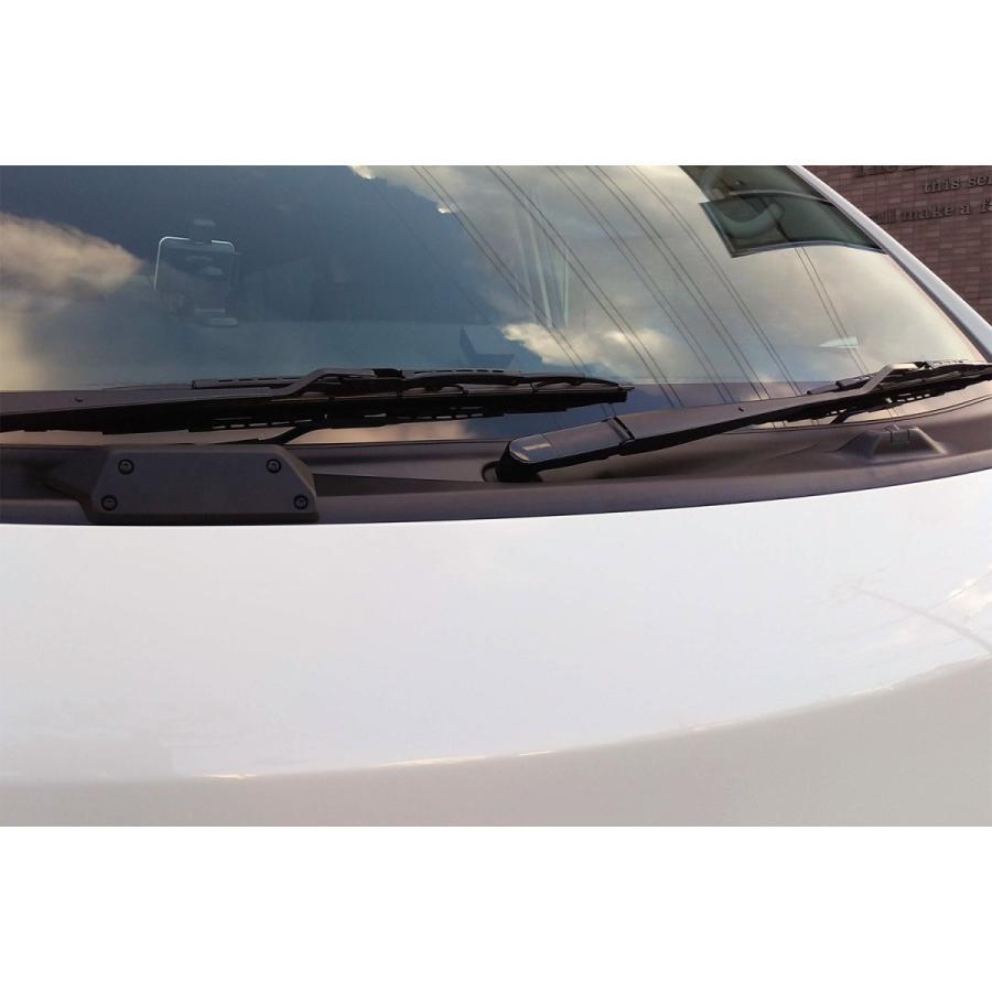 ケンスタイル ウィンドウウォッシャーノズルカバー 日産 NV350キャラバン E26 H24/6- ナローボディ ≪ 左右計2個セット マッドブラック塗装仕様 ≫|rs-online|05