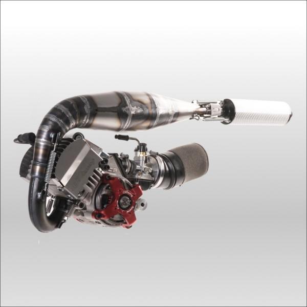 CS RACING 空冷40cc CS ENGINE FACTORY 40AIR (SILENCER OFFICIAL TEAM KEVLAR, CARBURATOR 15 KIT CNC COMPLETE