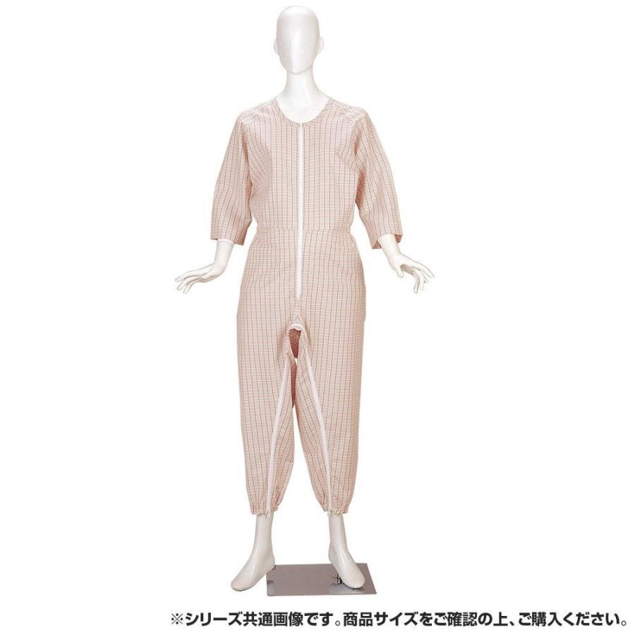 海外最新 4300 つなぎねまきビエラ前股フック LLサイズ ピンク-介護用品
