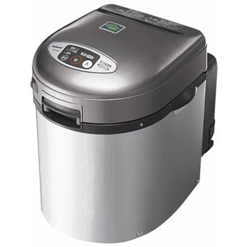 パナソニック リサイクラー 家庭用 生ゴミ処理機 シルバー MS-N46-S