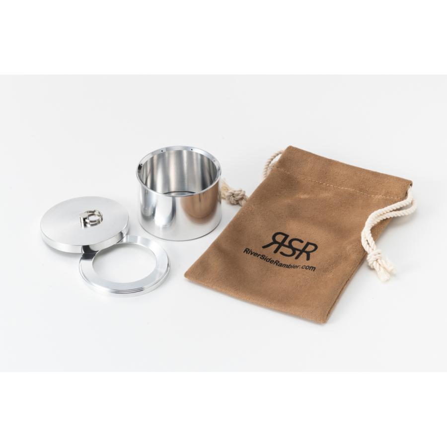 RSR Stove セット ソロキャンプ用最小アルコールストーブセット|rsr-store