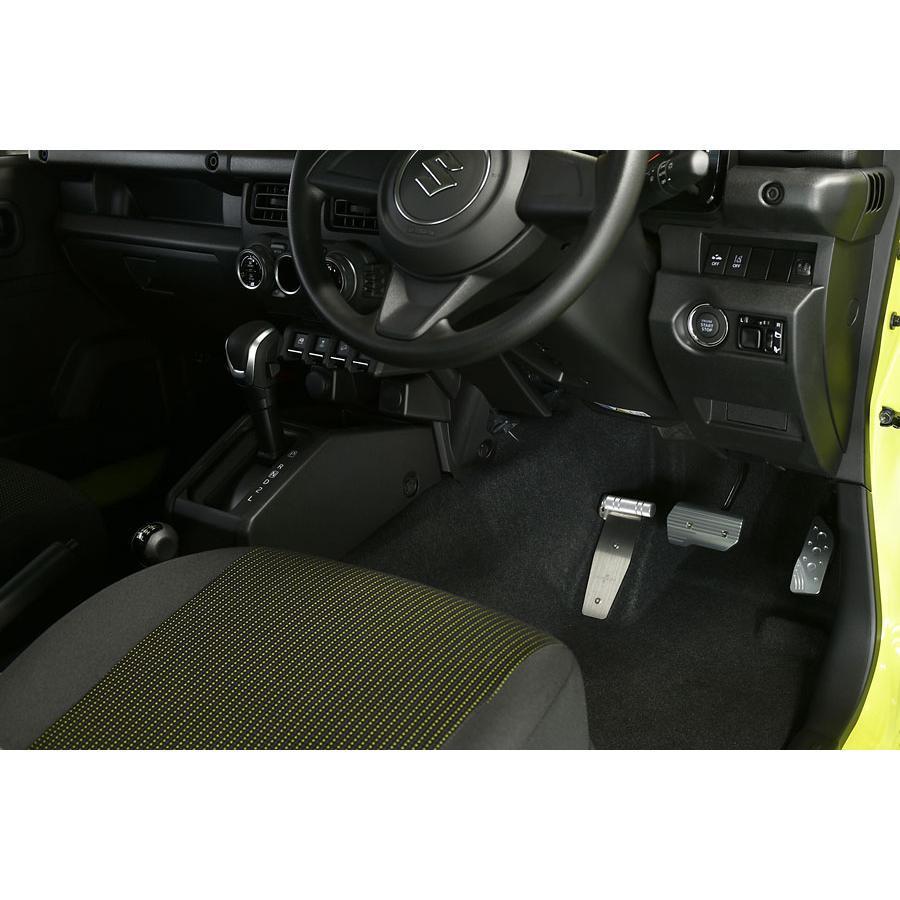 ペダル ネオプロト フットレストバー NEO スズキ SUZUKI ジムニー (JB64W) ジムニーシエラ (JB74W) AT車 NP79270|rubbermark|06