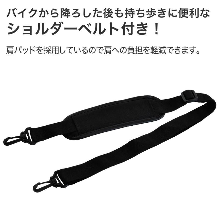 シートバッグ リアバッグ IGAYA イガヤ 20L〜28L 可変式 ブラック IGY-SBB-R-0010 ツーリングバッグ|rubbermark|06