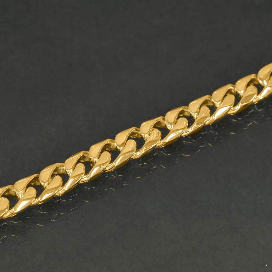 acbb12d6c33d3b ... ブレスレット | チェーン | 18金 | イエローゴールド | 8面カット喜平チェーン | 幅6.0mm | 長さ22cm | 鎖 |  K18YG | 18k | 貴金属 | ジュエリー | メンズ ...