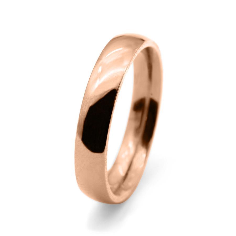 激安本物 指輪 幅4.0mm 地金リング 18金 指輪 ピンクゴールド 甲丸リング 幅4.0mm ピンキーリングもございます 地金リング, 瀬峰町:57c00ce0 --- chizeng.com