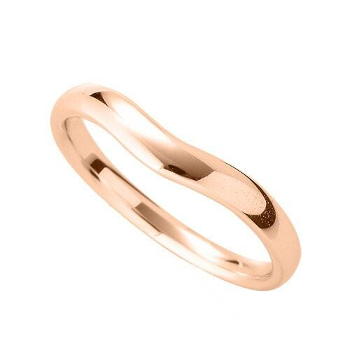 新作モデル 指輪 指輪 18金 ピンクゴールド 18金 幅3.2mm シンプルモダンなV字リング 幅3.2mm, ゲオモバイル:52adc7ea --- airmodconsu.dominiotemporario.com