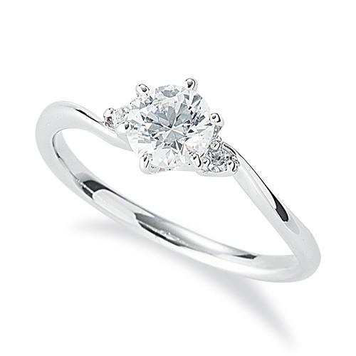 ファッションなデザイン 指輪 天然石 六本爪留め 18金 ホワイトゴールド ウェーブ 天然石 サイドストーンリング 主石の直径約5.2mm ウェーブ 六本爪留め, r2-style:adcbcfc4 --- airmodconsu.dominiotemporario.com