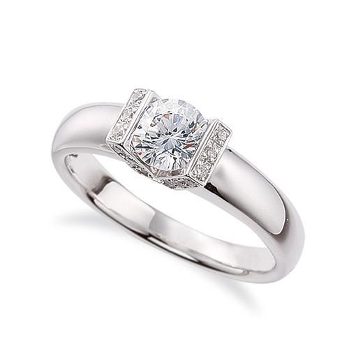 正規品 指輪 18金 ホワイトゴールド 天然石 サイドストーンリング 主石の直径約5.2mm, ボード専門店シーズ a19ecd39