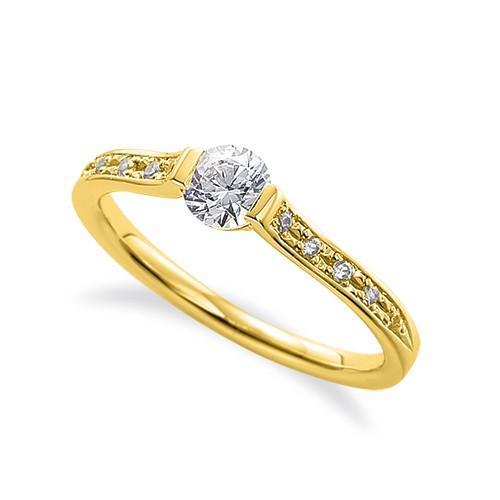【税込】 指輪 指輪 18金 18金 イエローゴールド 天然石 サイド一文字リング 天然石 主石の直径約4.4mm, 世界のナイフショールーム 山秀:e1c75e2a --- airmodconsu.dominiotemporario.com
