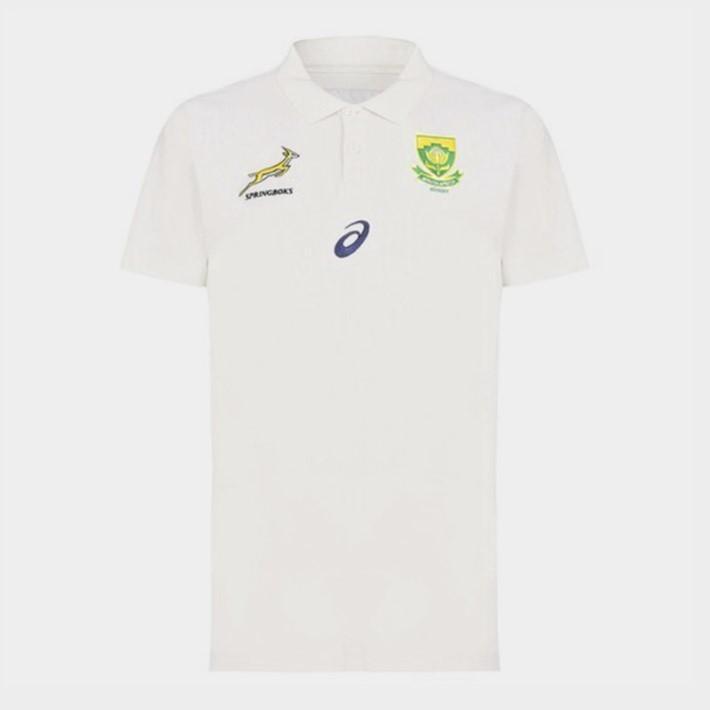 ラグビー スプリングボクス 南アフリカ代表 ポロシャツ レッド 公式 メンズ レディース ユニセックス