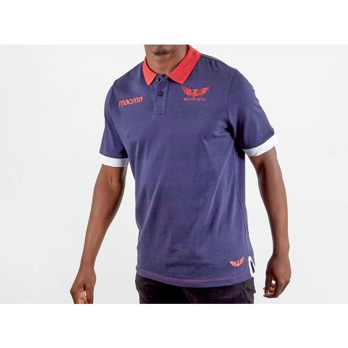 ラグビー スカーレッツ トレーニング ポロシャツ 公式 メンズ レディース ユニセックス