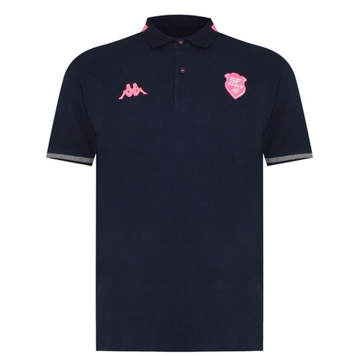 ラグビー スタッド・フランセ トレーニング ポロシャツ ピンク 公式 メンズ レディース ユニセックス