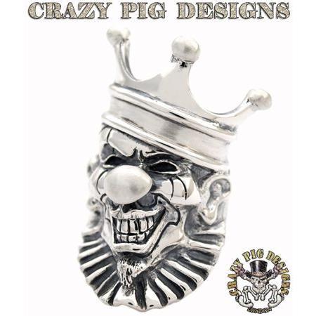 【送料込】 クレイジーピッグ リング 指輪 CRAZYPIG クラウンリング CRAZY PIG メンズ リング レディース リング, バリバリ家電 d8e2800f