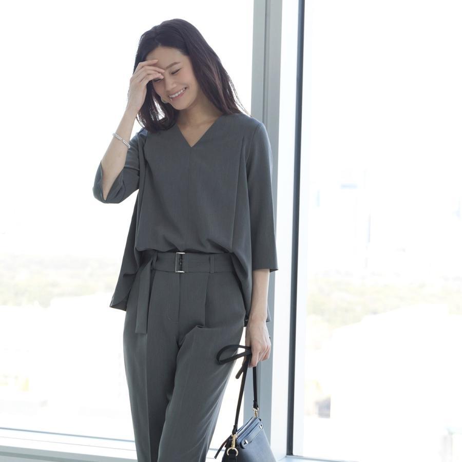 トップス レディース オフィスカジュアル 洗える ストレッチ ブラウス 通勤 OL 50代 40代 30代 ミセス 女性 服装 上品 ビジネス キャリア フォーマル ママスーツ|ruirue-boutique|14