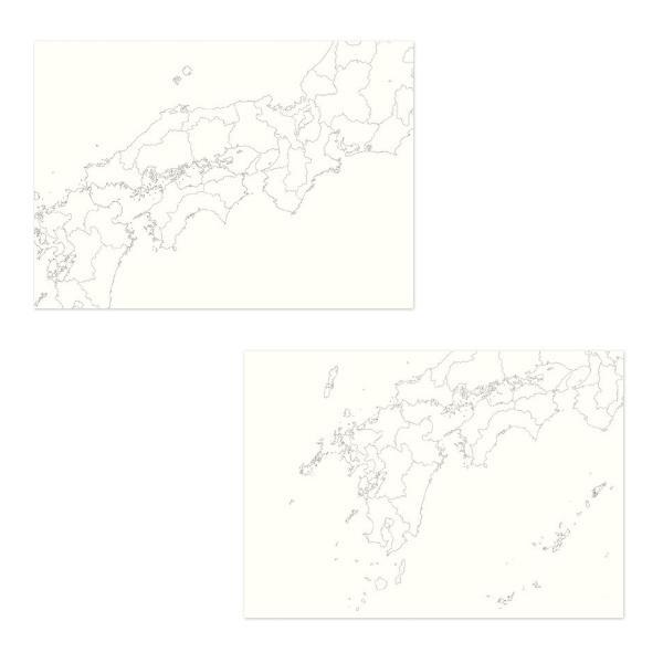カルトグラフィー/大人の白地図 [ブック] A5 ニホン マルアイ 82CG-A5J |rukaruka0551|03