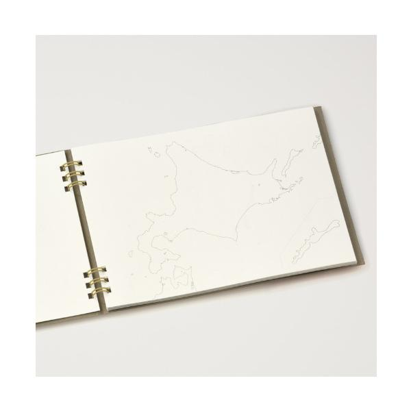 カルトグラフィー/大人の白地図 [ブック] A5 ニホン マルアイ 82CG-A5J |rukaruka0551|04