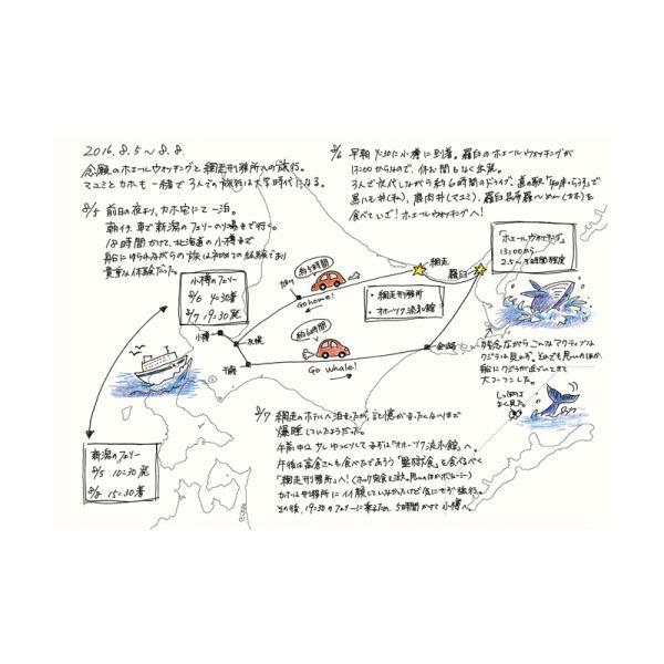 カルトグラフィー/大人の白地図 [ブック] A5 ニホン マルアイ 82CG-A5J |rukaruka0551|05