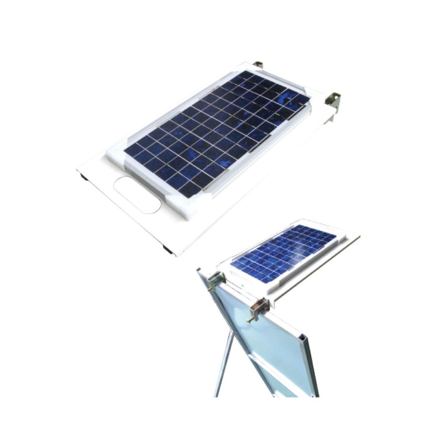 Netis登録商品 ソーラーライトプレート 550×350 無日照約5日間 キタムラ産業
