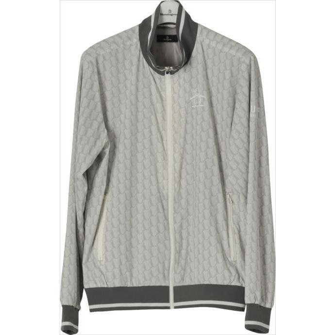 《送料無料》ゴルフブルゾン Munsingwear (マンシングウェア) メンズ ブルゾン グレー MGMLJK01 1904 ゴルフウェア