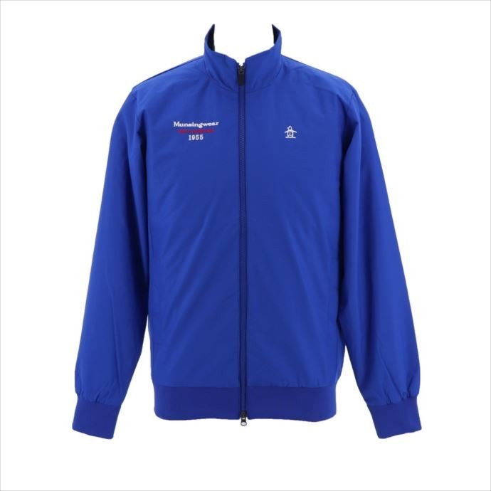 《送料無料》ブルゾン Munsingwear (マンシングウェア) メンズ ブルゾン ブルー MGMMJK05W 1908 ゴルフ