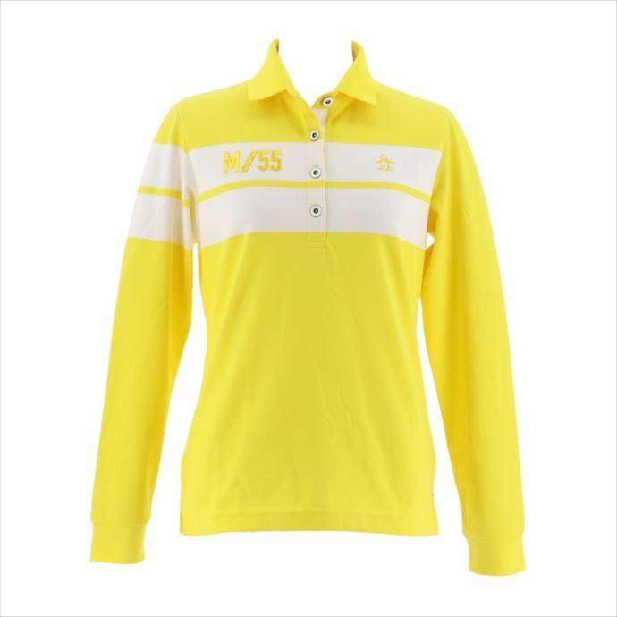 《送料無料》Munsingwear (マンシングウェア) レディス DSCサンスクリーン長袖シャツ イエロー MGWMJB03 1908 ゴルフ 長袖シャツ