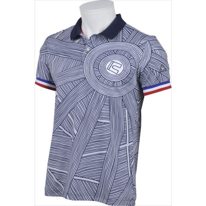 半袖シャツ Le coq sportif GOLF (ルコックゴルフ) メンズ QGMLGA05 ホワイト 1904 ゴルフウェア