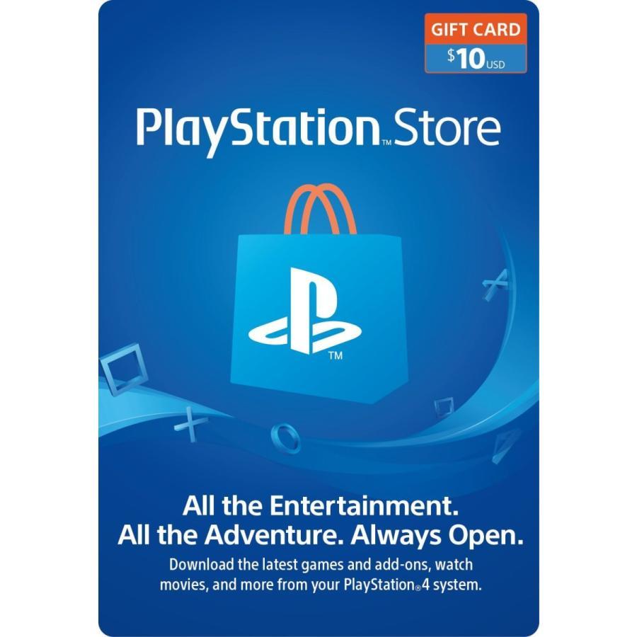 (コード通知) 北米版 プレイステーション PSNカード $10ドル|rusher