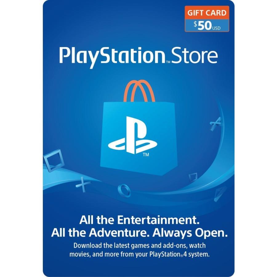 (コード通知) 北米版 プレイステーション PSNカード $50ドル rusher