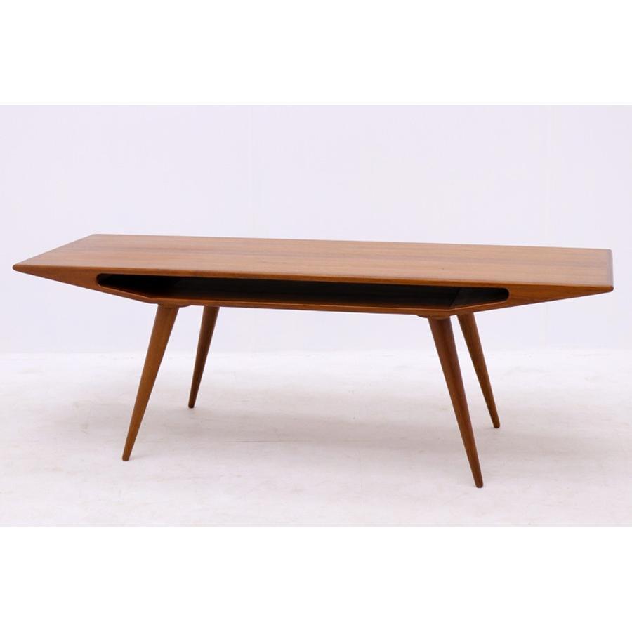 デンマーク製 Omann Jun(オーマン・ジュン) センターテーブル 幅150cm 北欧ビンテージ家具【アンティーク ソファテーブル コーヒーテーブ