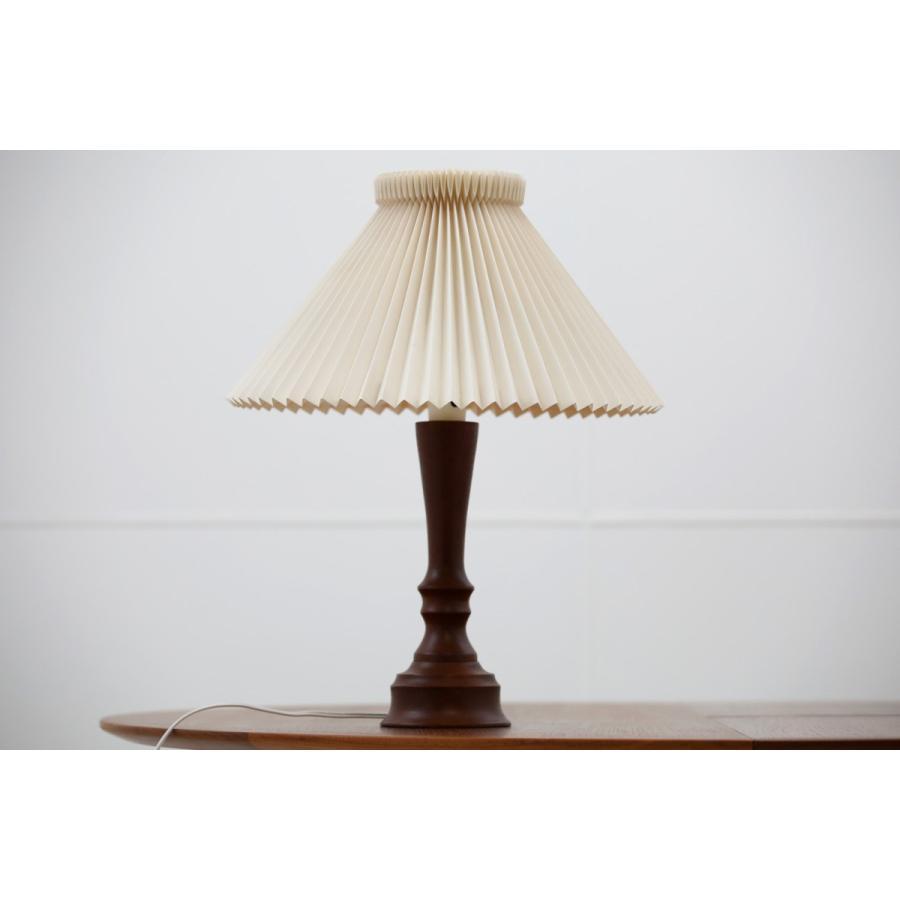 【送料無料】デンマーク製 テーブルランプ チーク材 北欧ビンテージ【アンティーク デンマーク製 照明器具 テーブルライト スタンド照明 間接照明 デス