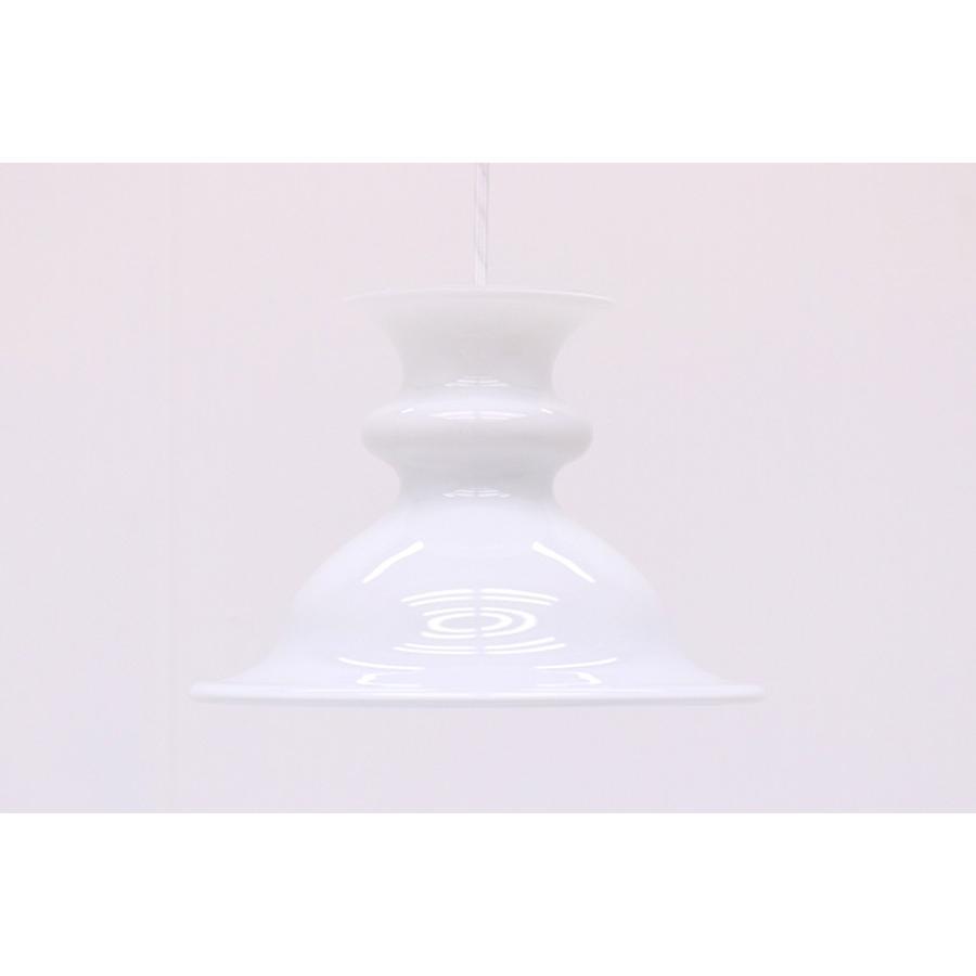 【送料無料】Holmegaard(ホルムガード) お洒落な形のペンダントライト 北欧照明ビンテージ【アンティーク デンマーク製 ロイヤルコペンハーゲン