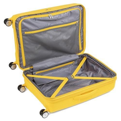 スーツケース レンタル 送料無料 TSAロック≪10日間プラン≫サウンドボックス スピナー SOUNDBOX 32G-002 (5〜10泊タイプ:Lサイズ:67cm/71-81L) ry-rental 05