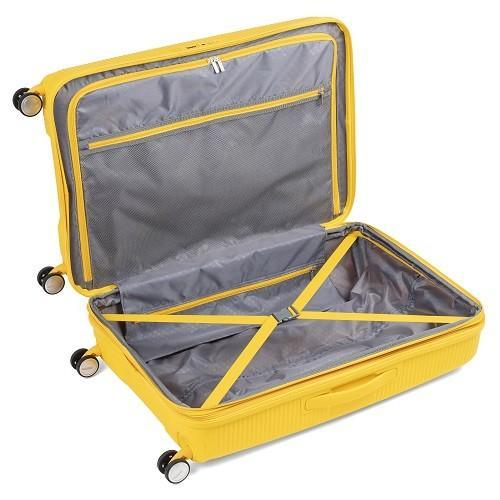 スーツケース レンタル 送料無料 TSAロック≪14日間プラン≫サウンドボックス スピナー SOUNDBOX 32G-003 (10泊以上タイプ:LLサイズ:77cm/97-110L) ry-rental 05