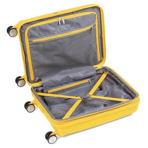 スーツケース レンタル 送料無料 TSAロック≪5日間プラン≫サウンドボックス スピナー SOUNDBOX 32G-001 (1〜3泊タイプ:Sサイズ:55cm/35-41L)|ry-rental|05