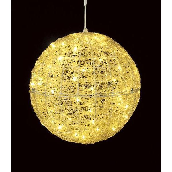 最高の品質 DILI61070耐水45cm100球広角型LEDシャンペーングロー立体ボール/常点灯 DILI61070, オオゴエマチ:91c75f96 --- lighthousesounds.com