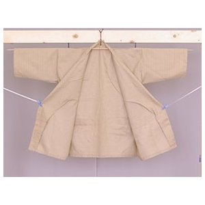 業務用仕様 作務衣 ベージュ TCバニラン Lサイズ|ryokan-yukata|06
