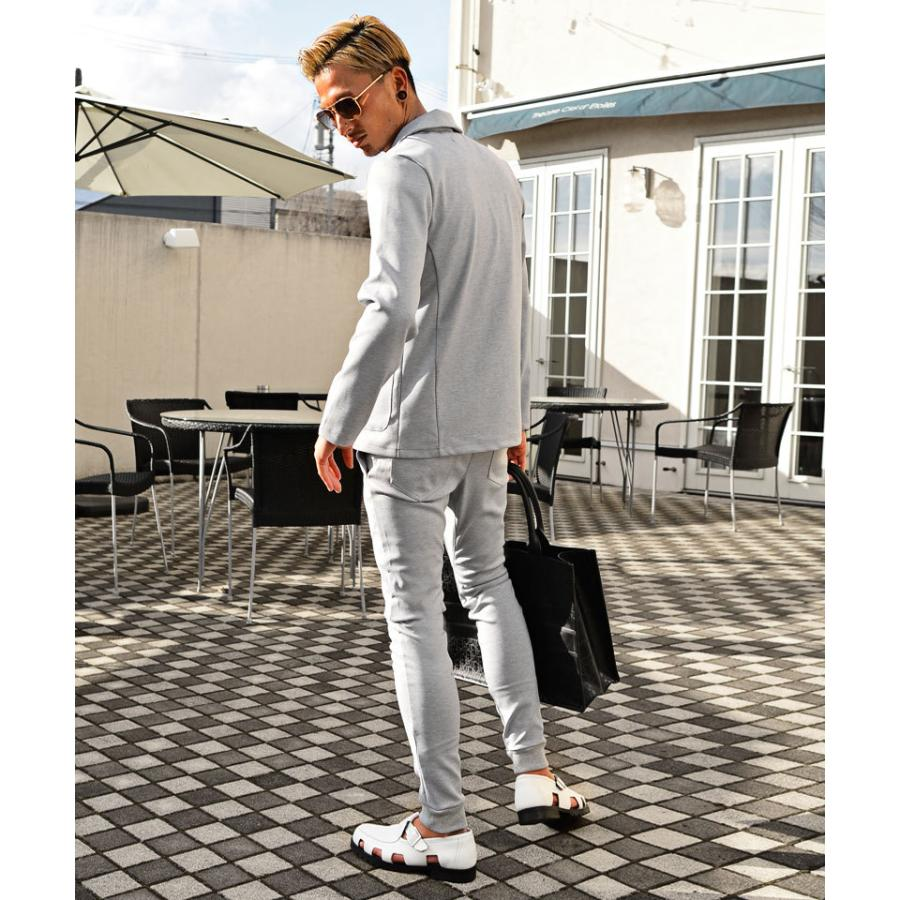 セットアップ メンズ テーラードジャケット 春 秋 冬 おしゃれスーツ ちょいワル メンズファッション 20代 30代 40代 カジュアル|ryouhin-boueki|15