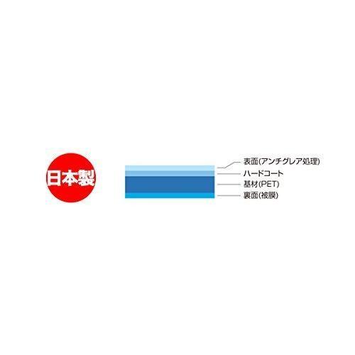 指紋が目立たない 反射防止タイプ液晶保護フィルム SSDポータブルカーナビゲーション Panasonic Gorilla(ゴリラ) CN-G530D|ryouhinhonpo-osaka|02
