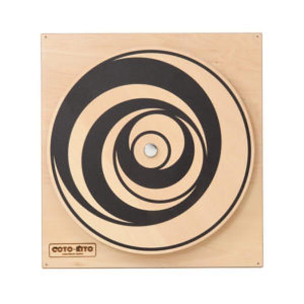 COTO-KITO 壁掛玩具 くらんくらん CG-0006 子供用知育玩具 思考能力 遊ぶ 学び 触れる 好奇心 壁掛け玩具 木製手作り玩具 コトキト