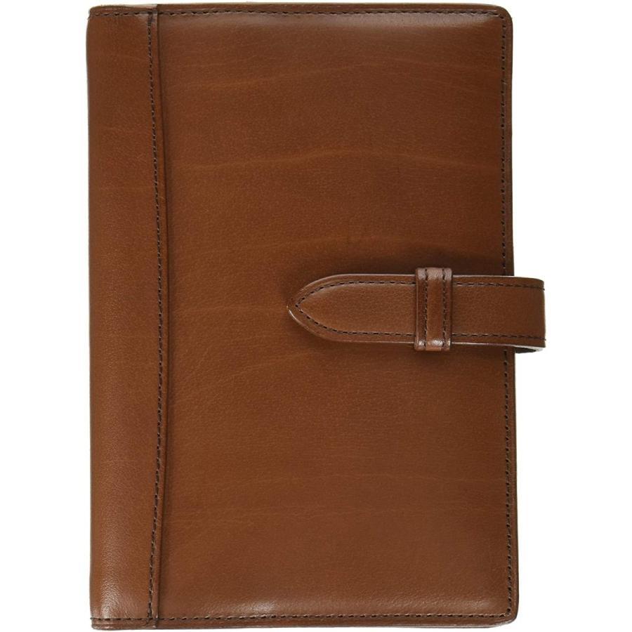 ノックブレイン システム手帳 ピアス ミニ ブラウン 12501030|rys-store