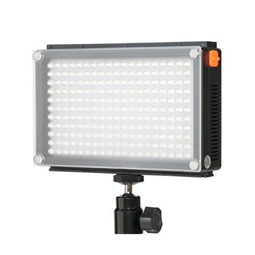 業務用LEDビデオライト LED209AS 光量・色温度 無段階調整可能