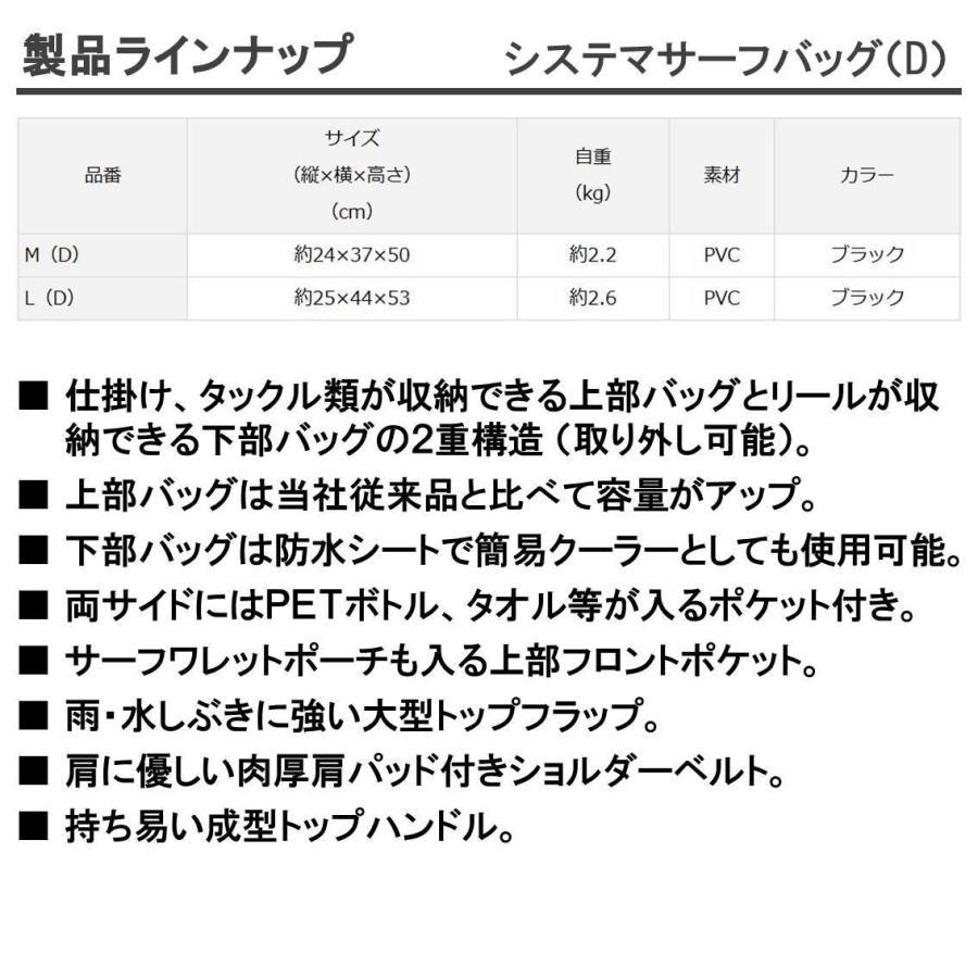 ダイワ(Daiwa) タックルバッグ システマサーフバッグ L(D)