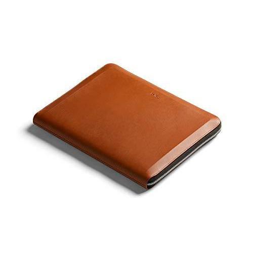 Bellroy Tech Folio - プレミアムレザー製ファスナー付き二つ折りケース(ノートPC、タブレット、携帯電話、ケーブル、文房具