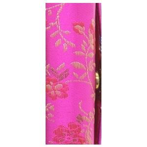 小物入れ 印鑑入れ リップケース 鏡付き 中華柄 アジアン エスニック 色が選べる 幅3cm ryu 08