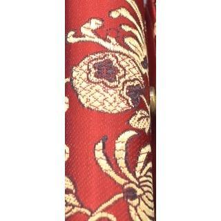 小物入れ 印鑑入れ リップケース 鏡付き 中華柄 アジアン エスニック 色が選べる 幅3cm ryu 06