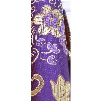 小物入れ 印鑑入れ リップケース 鏡付き 中華柄 アジアン エスニック 色が選べる 幅3cm ryu 10